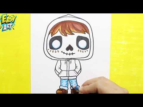Como dibujar personajes de Coco, dibujos de Personajes De Coco, como dibujar Personajes De Coco paso a paso