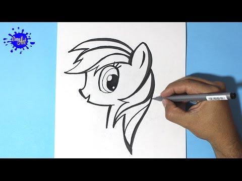 Como dibujar personajes de My Little Pony, dibujos de Personajes De My Little Pony, como dibujar Personajes De My Little Pony paso a paso