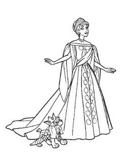 Dibujo de Anastasia para colorear  Dibujos para colorear imprimir gratis, dibujos de Anastasia, como dibujar Anastasia paso a paso