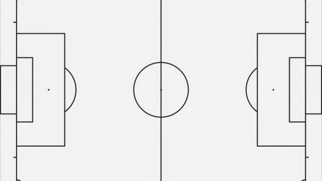 Cómo dibujar un campo de fútbol paso a paso para que los niños jueguen, dibujos de Un Campo De Fútbol, como dibujar Un Campo De Fútbol paso a paso