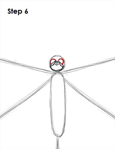 Dibujar Mariposa 6