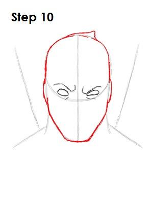Dibujar Deadpool Marvel 10