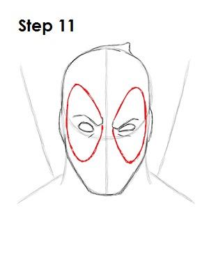 Dibujar Deadpool Marvel 11
