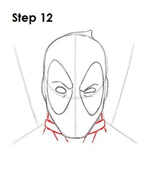 Dibujar Deadpool Marvel 12