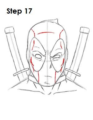 Dibujar Deadpool Marvel 17