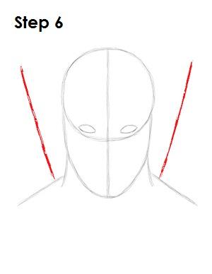 Dibujar Deadpool Marvel 6