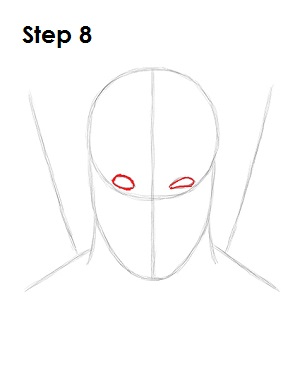 Dibujar Deadpool Marvel 8
