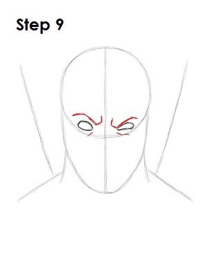 Dibujar Deadpool Marvel 9