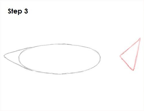 Dibujar gran tiburón blanco 3