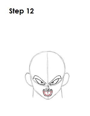 Dibujar Vegeta 12