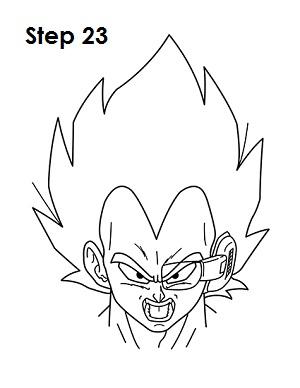 Dibujar Vegeta 23