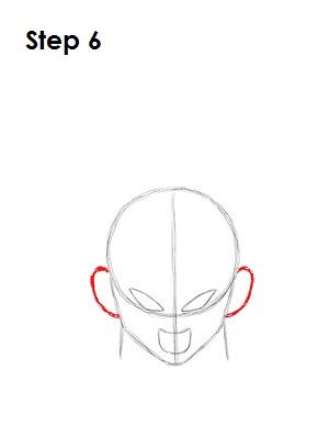 Dibujar Vegeta 6