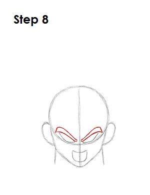 Dibujar Vegeta 8