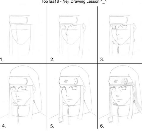 Cómo dibujar un rostros Paso a Paso y otras cosas Como dibujar a naruto Naruto para dibujar Dibujos, dibujos de A Los Personajes De Naruto, como dibujar A Los Personajes De Naruto paso a paso