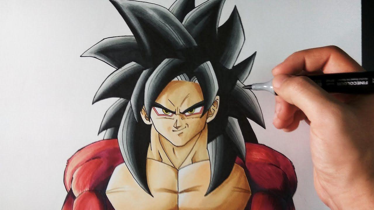 Cómo Dibujar a Goku SSJ4 + SORTEO INTERNACIONAL  ArteMaster  Cómo dibujar  a goku  Dibujo de goku  Cómo dibujar, dibujos de A Gokú Ssj4 De Dragon Ball Gt, como dibujar A Gokú Ssj4 De Dragon Ball Gt paso a paso