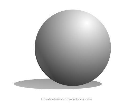 Cómo dibujar una esfera