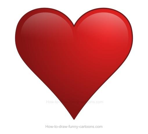 Cómo dibujar corazones