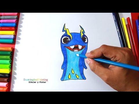 How to draw JOULES Tazerling (Slugterra)  Cómo dibujar babosa Electroshock  (Bajoterra), dibujos de Slugterra, como dibujar Slugterra paso a paso