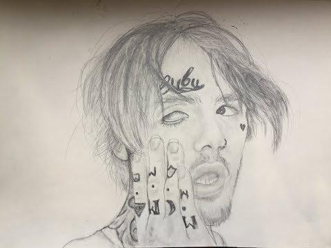 Dibujando a Lil peep descanse en paz - YouTube, dibujos de Peeps, como dibujar Peeps paso a paso