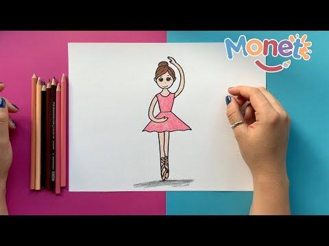 Como dibujar una BAILARINA  Paso a paso!!! - YouTube, dibujos de Una Bailarina, como dibujar Una Bailarina paso a paso