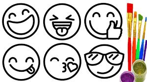 Cómo dibujar lindos emojis