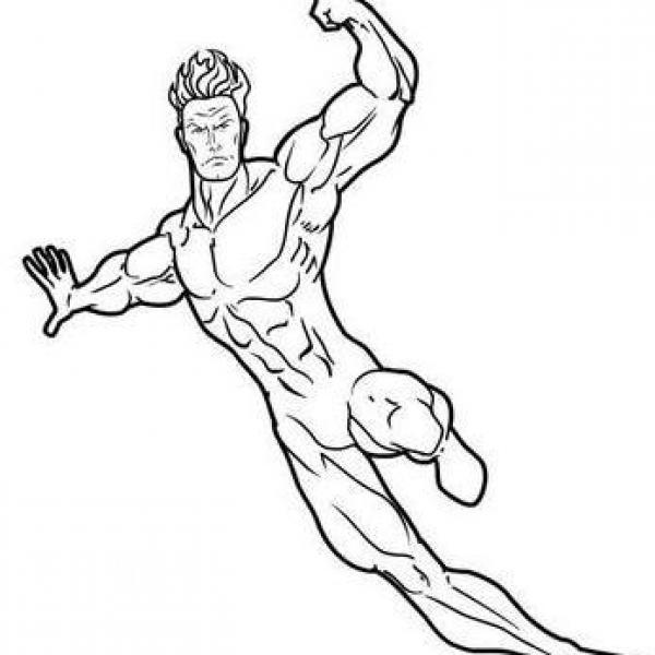 Cómo dibujar un Superhéroe - 5 pasos, dibujos de Superheroes, como dibujar Superheroes paso a paso