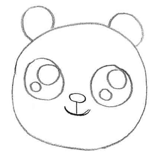 estilo cute animal drawings