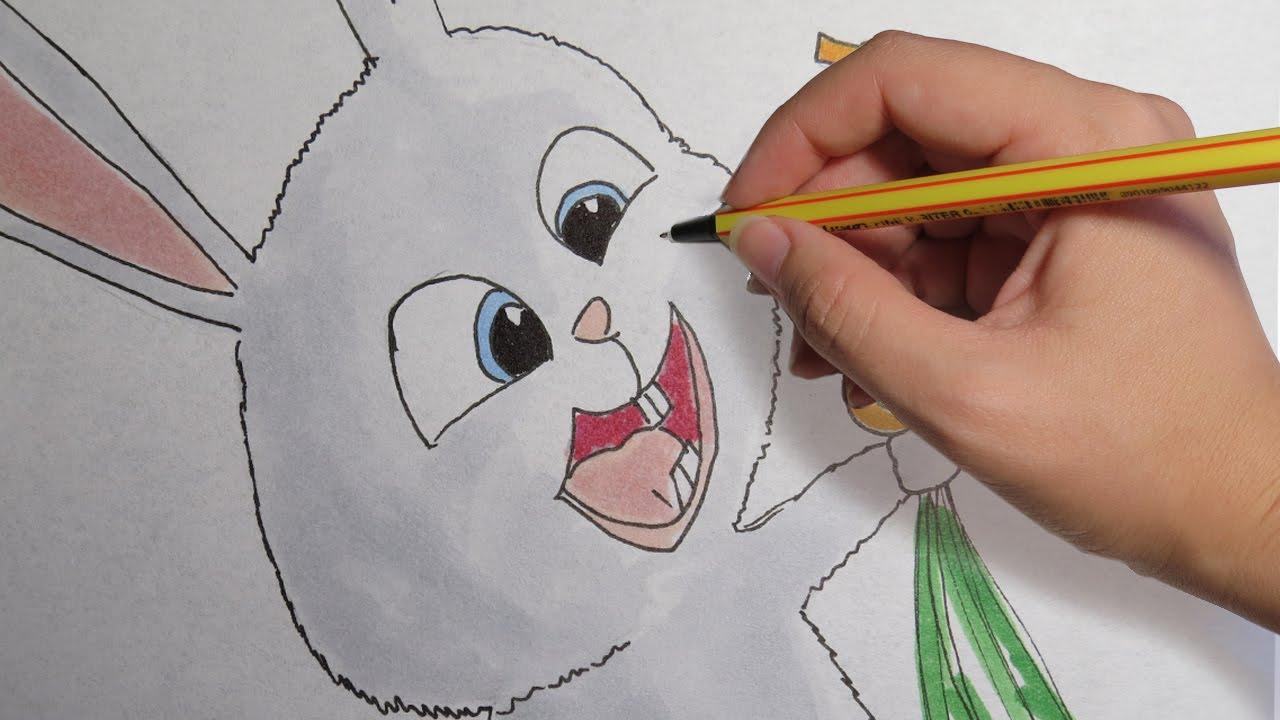 COMO DIBUJAR A SNOWBALL DE MASCOTAS: facil paso a paso, dibujos de Mascotas, como dibujar Mascotas paso a paso
