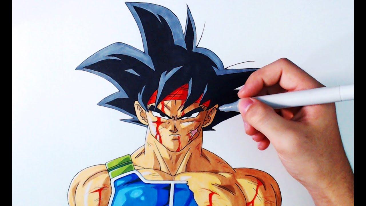 Cómo Dibujar a Bardock Paso a Paso Dragon Ball Z How to Draw Bardock ArteMaster, dibujos de Dragon Ball, como dibujar Dragon Ball paso a paso