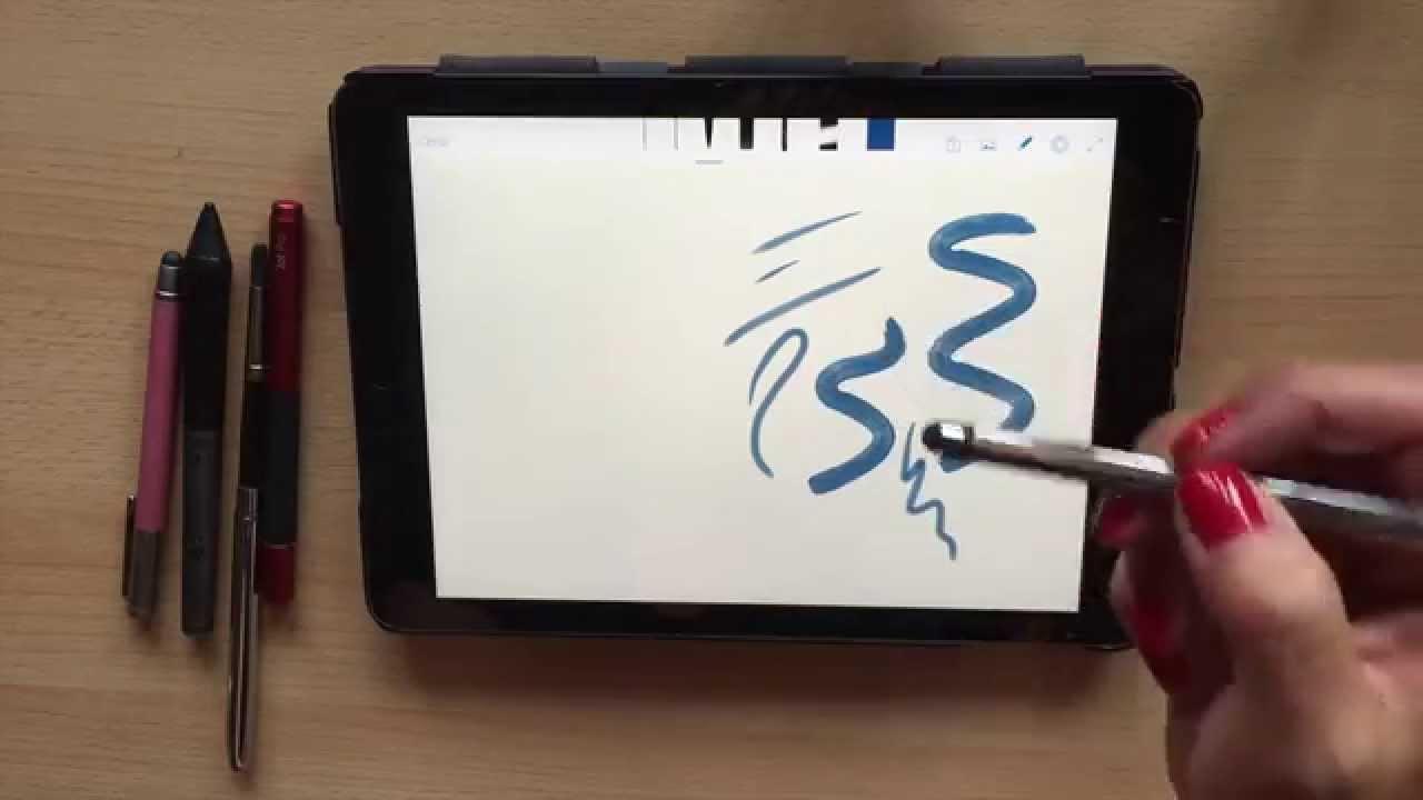 Dibujar en un tablet o dispositivo touch: la elección del pincel, dibujos de Con Tablet, como dibujar Con Tablet paso a paso