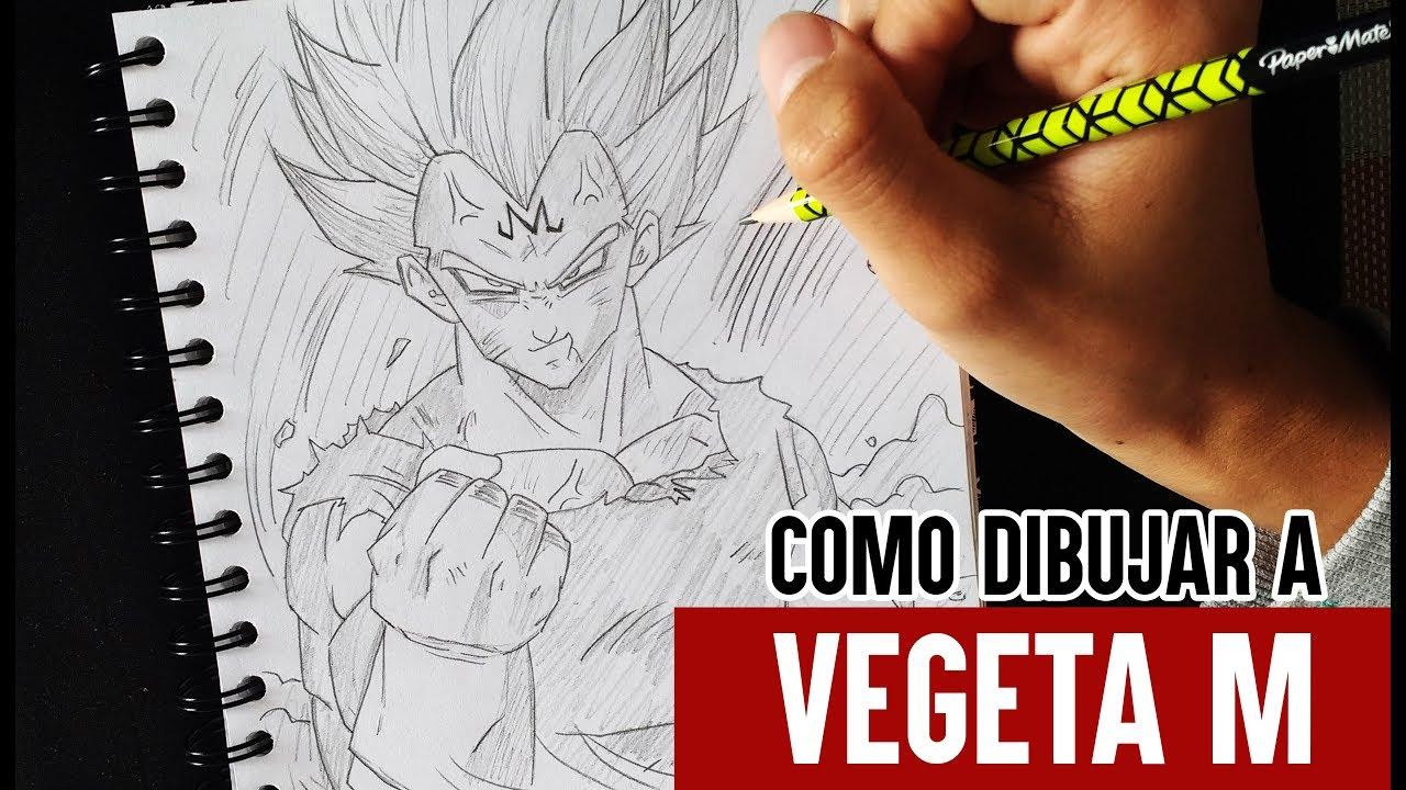 Como Dibujar a Vegeta ( Majin Vegeta) Paso a Paso  How to draw Vegeta  DRAGON BALL Z  Billy, dibujos de A Vegeta Majin De Dragon Ball Z, como dibujar A Vegeta Majin De Dragon Ball Z paso a paso