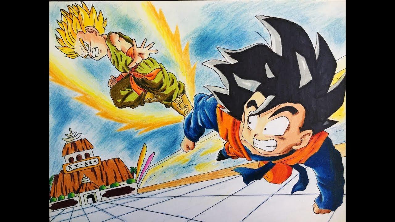 Como Dibujar a Goten y Trunks !!, dibujos de A Goten Y Trunks De Dragon Ball, como dibujar A Goten Y Trunks De Dragon Ball paso a paso