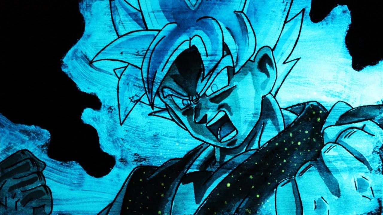 Aprende a hacer este INCREÍBLE dibujo BRILLANTE en la oscuridad  Goku SSJ  Dios SSJ  ArteMaster, dibujos de A Gokú Ssj Dios Con Efecto Brillante En La Oscuridad, como dibujar A Gokú Ssj Dios Con Efecto Brillante En La Oscuridad paso a paso
