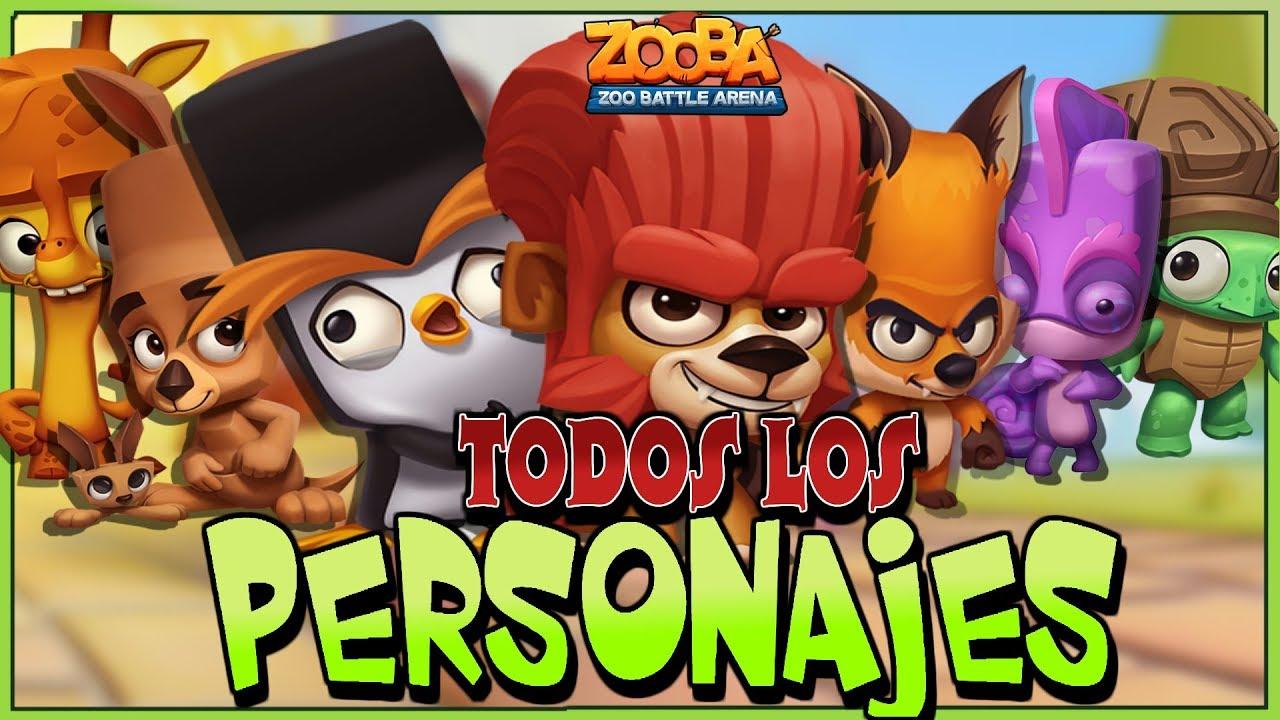 JUEGO CON TODOS LOS PERSONAJES DE ZOOBA! - YouTube, dibujos de Zooba, como dibujar Zooba paso a paso