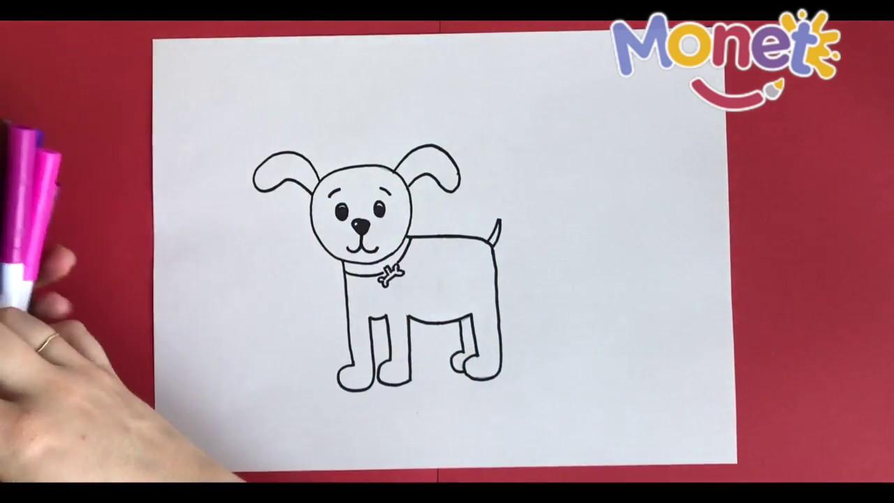 Como dibujar un perrito paso a paso!, dibujos de Un Perrito, como dibujar Un Perrito paso a paso