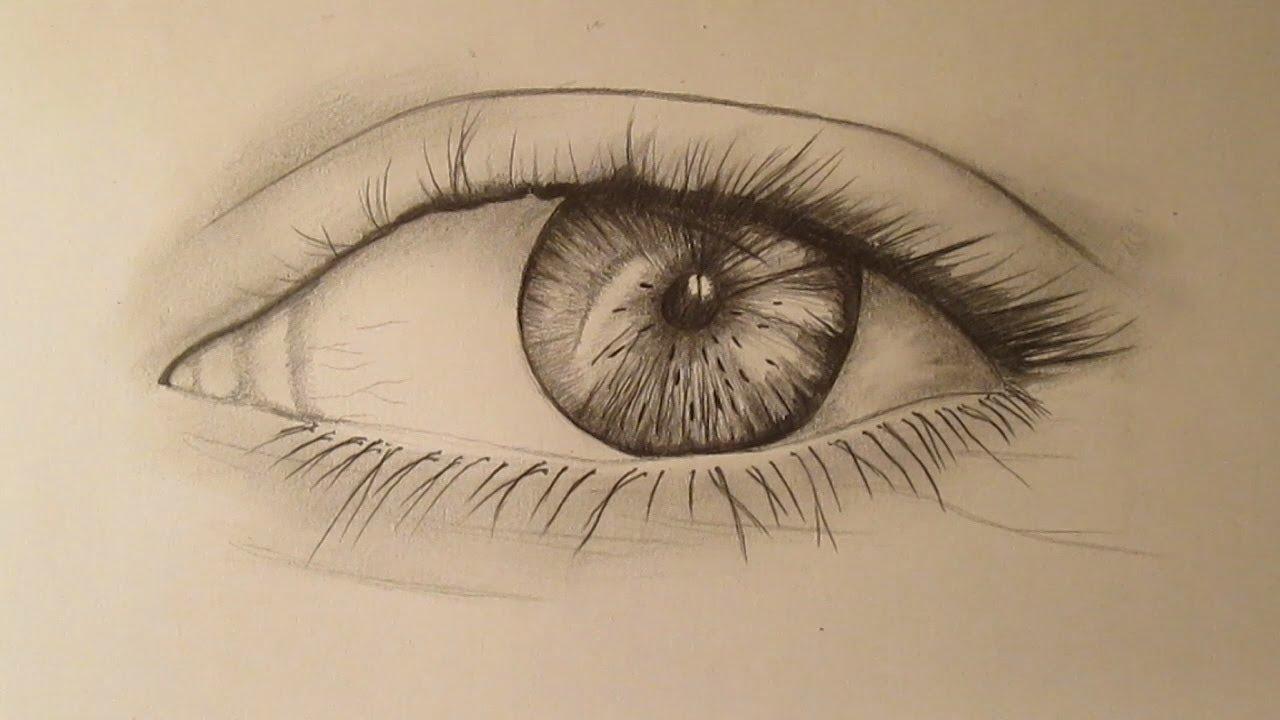 Cómo dibujar un ojo a lápiz paso a paso  aprender a dibujar un ojo, dibujos de Ojos A Lápiz, como dibujar Ojos A Lápiz paso a paso