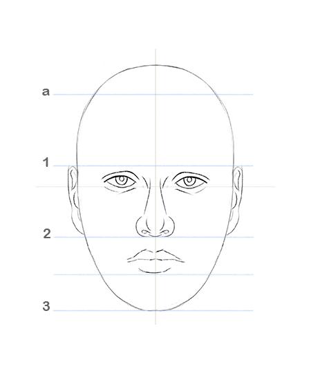 🥇 Cómo dibujar un rostro humano fácil  paso a paso – TUTORIAL 🌠, dibujos de Una Cara, como dibujar Una Cara paso a paso