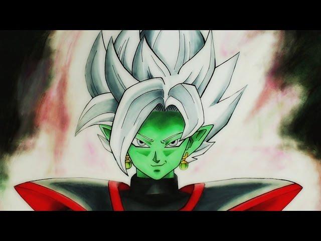 Cómo Dibujar a ZamasuBlamasu (NUEVA FUSIÓN)  How to Draw Blamasu  Dragon  Ball Super - YouTube, dibujos de La Fusion Zamasu Blamasu De Dragon Ball Super, como dibujar La Fusion Zamasu Blamasu De Dragon Ball Super paso a paso
