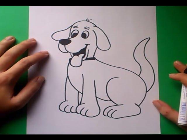 Como dibujar un perro paso a paso 8 How to draw a dog 8 - YouTube, dibujos de Un Perro A Partir De La Palabra Pet, como dibujar Un Perro A Partir De La Palabra Pet paso a paso