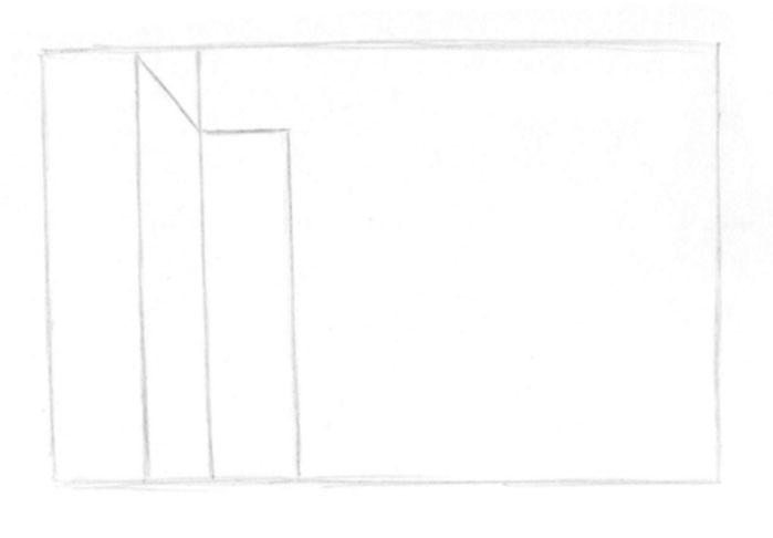 pasos 1, El arte de dibujar ilusiones ópticas
