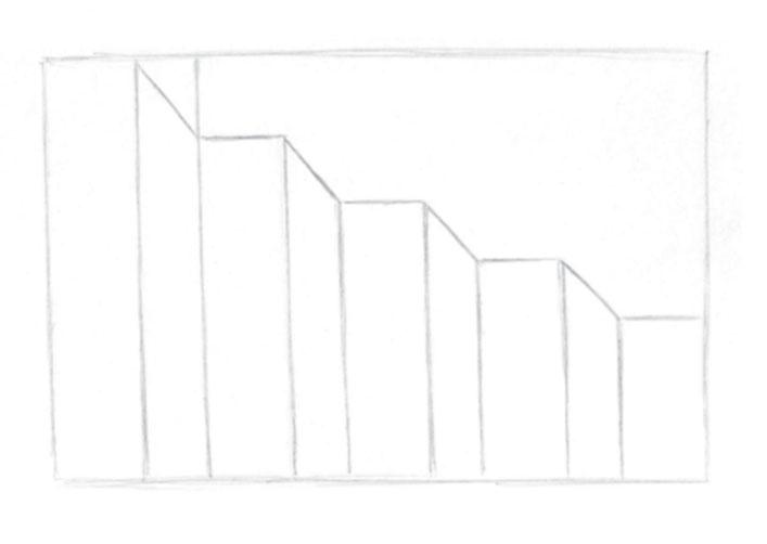 pasos 3, El arte de dibujar ilusiones ópticas