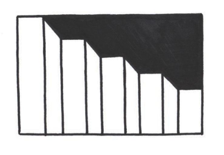 pasos 4, El arte de dibujar ilusiones ópticas