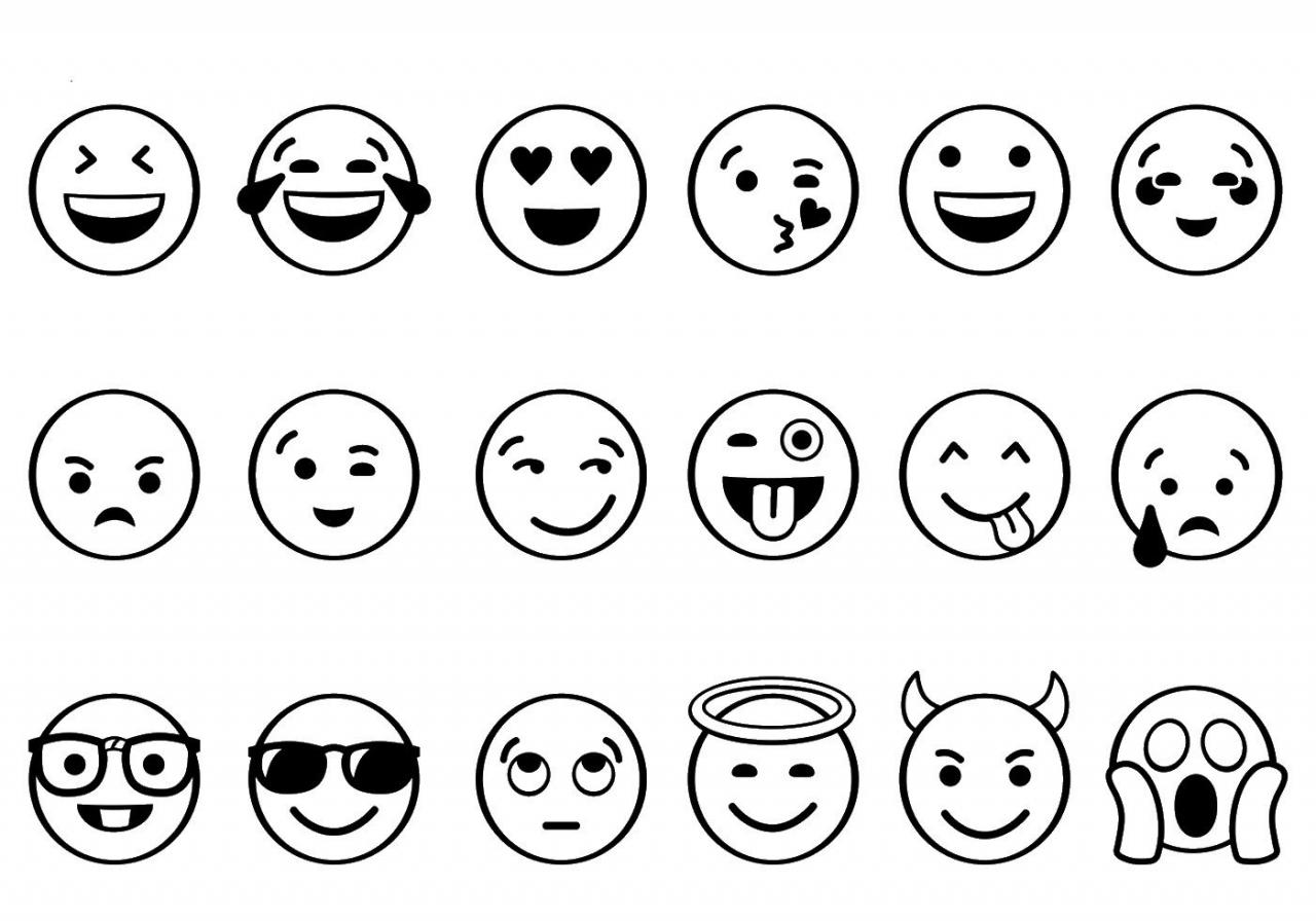 Cómo dibujar imágenes de Emojis
