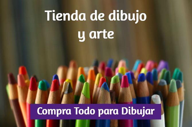 comprar materiales de dibujo, tienda de dibujo y materiales de arte, comprar instrumentos y complementos para colorear pintar y arte